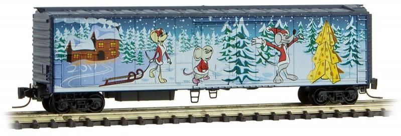 MTL Micro-Trains 51180 Christmas caboose MTL 5